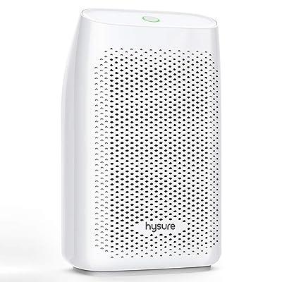 .com - hysure Dehumidifier, 700ml Compact Deshumidificador 1200 Cubic Feet(215 sq ft) Quiet Room Dehumidifier, Portable Dehumidifier -