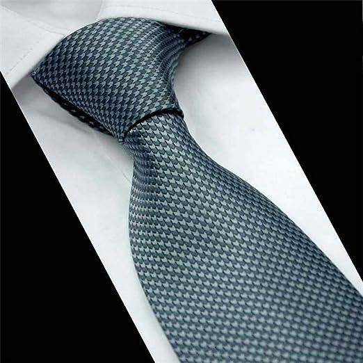 NSLDQ Corbata Corbata de Boda 8 cm Corbatas Delgadas Corbata de ...