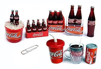 Mini Kühlschrank Cola : Amazon pcs set coca cola coke kühlschrank magnet