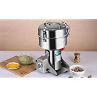 Commercial Home Large Capacity Crusher Grains Dry Grinding Machine,Stainless Steel 2000g High Power Spice Mill, Super…