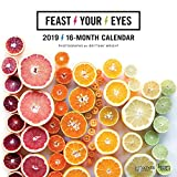 Feast Your Eyes - 2019 12 x 12 Inch Monthly Square Wall Calendar (Multilingual Edition)