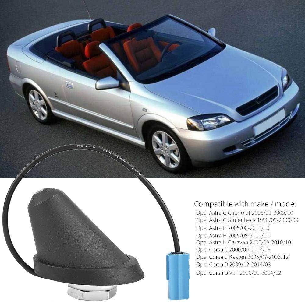 Qii lu Antena de radio estéreo Car Rod, antena de goma ...