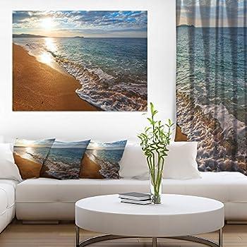 Design Art Pt10363 40 20 Expansive Tropical Beach