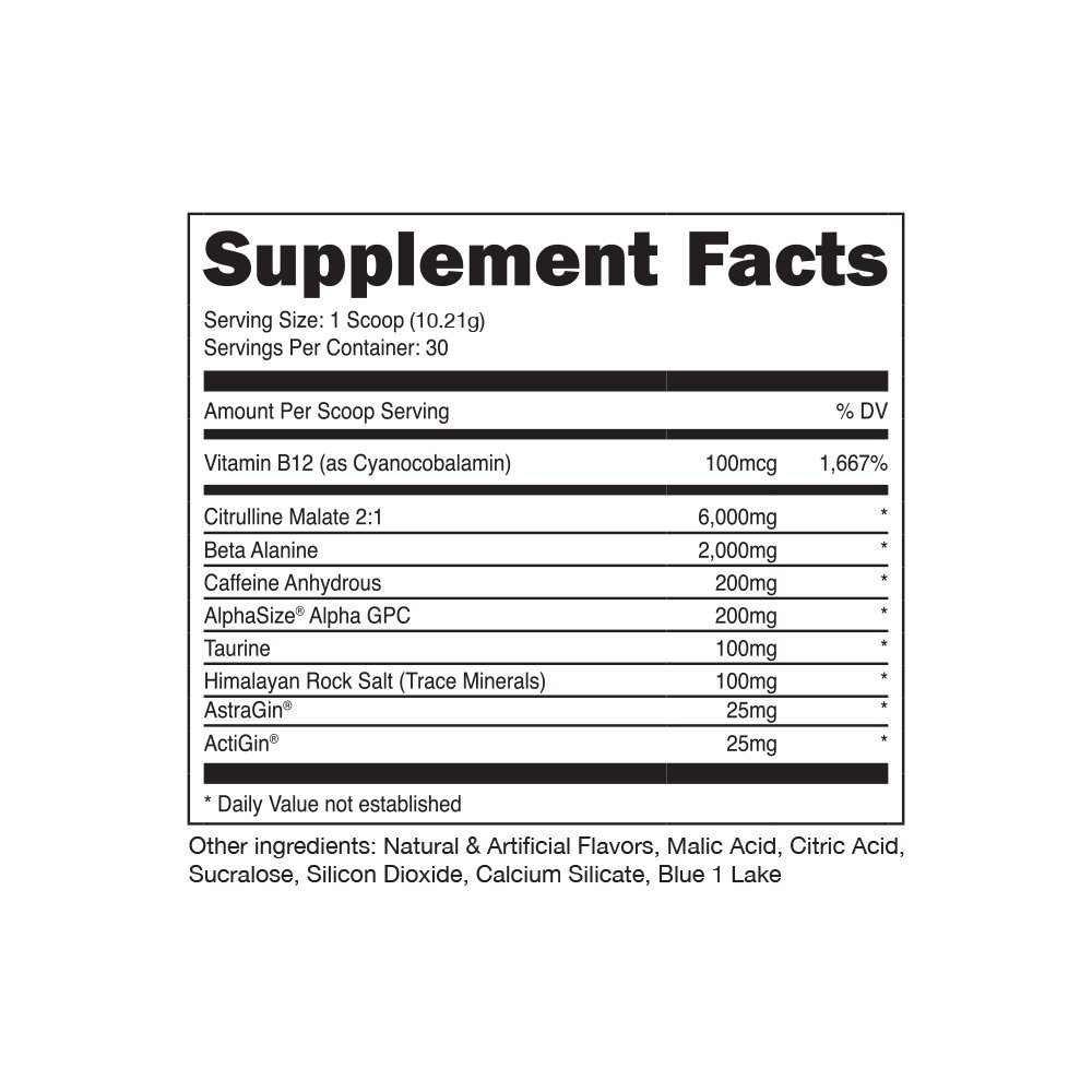 Bucked Up Pre Workout 6 Grams Citrulline, 2 Grams Beta Alanine, and 3 Other Registered trademarked Ingredients (Watermelon) by Bucked Up   (Image #3)