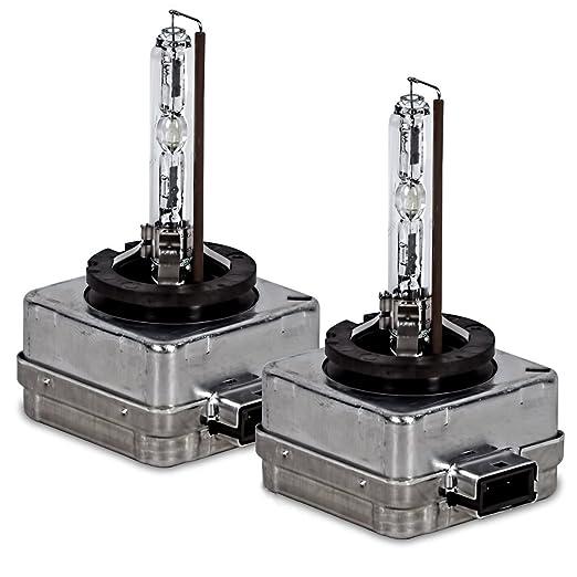 7 opinioni per 2x Lampadina allo xeno Osram D1S Xenarc 4100k 66144 35W per Auto Lampada Xenon