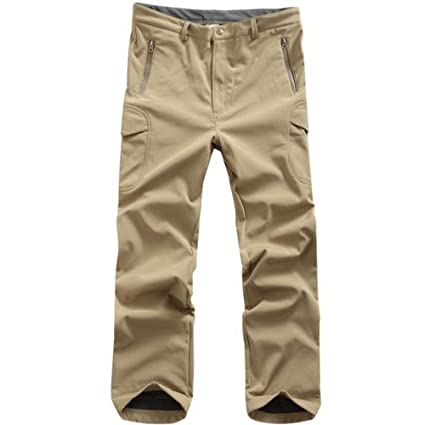 132f7dc300c3d Coldstar Men's Tactical Hunting Pants Soft Shell Hiking Trousers for  Outdoor Activities