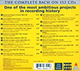 Bach 2000: The Complete Bach Edition - Sampler