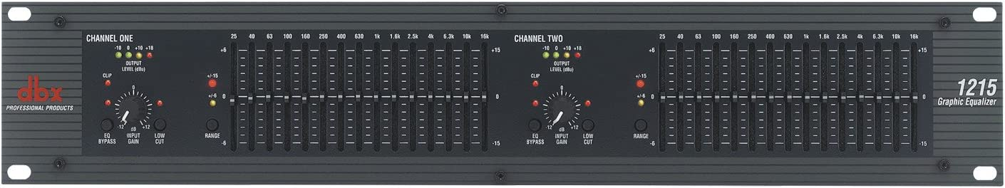 dbx 1215 Dual-Channel, 15-Band Graphic Equalizer