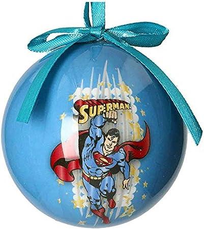 Univers DC Superman – Boule de Noël, Blanc: Amazon.fr: Cuisine