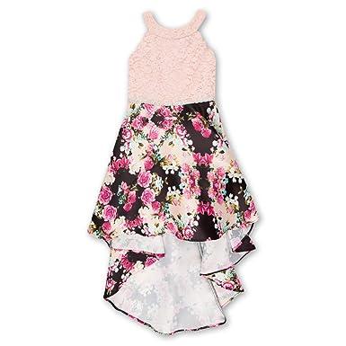 1d8af48263c7a Speechless Girls  Big 7-16 Tween Sleeveless High-Low Taffeta Party Dress