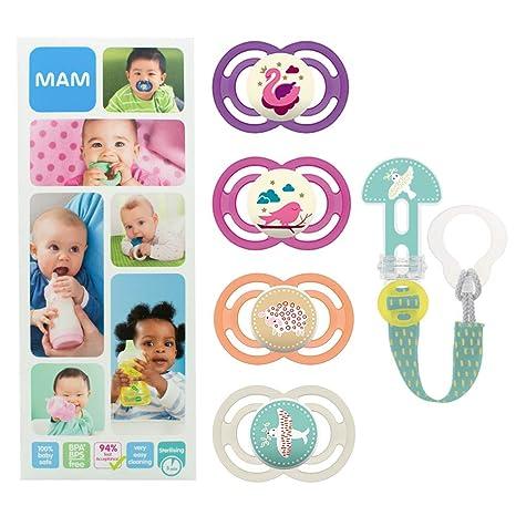 MAM Premium Soothing Set, juego de regalos para bebés de +6 ...