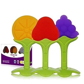 691329e15fd4 Amazon.com   3PCS Baby Teether Toys