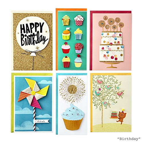 Hallmark All Occasion Handmade Boxed Set of Assorted Greeting Cards with Card Organizer (Pack of 24)—Birthday, Baby, Wedding, Sympathy, Thinking of You, Thank You, Blank Photo #10