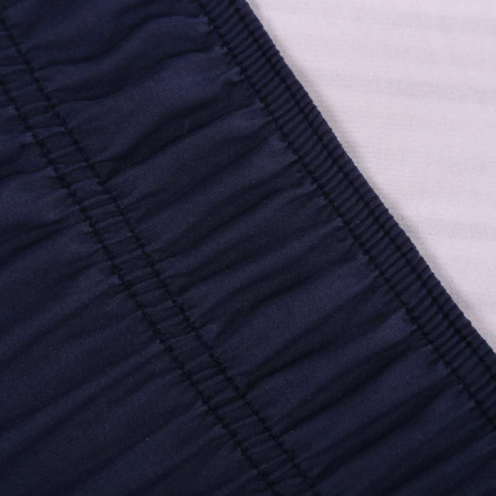 Beige #1, 39 * 75 YOUJIAA /Élastique Jupe de Lit /à Volants Couleur Unie Enrouler Trois C/ôt/és Autour du Style Cache-sommiers