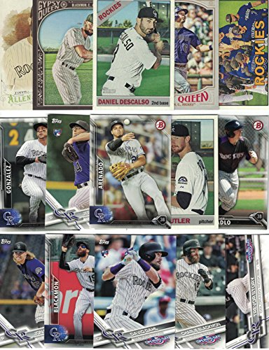 (Colorado Rockies / 100 Different Rockies Baseball Cards from 2018 - 2000)