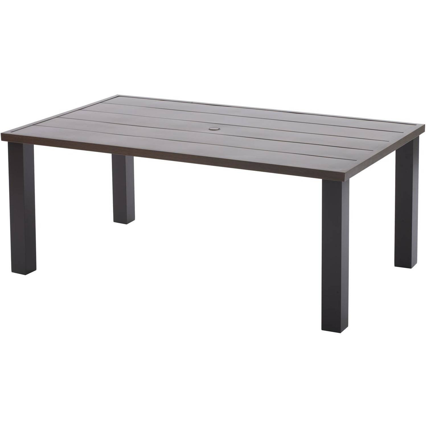 Better Homes and Gardens Camrose Farmhouse Mix and Match Steel Dining Table