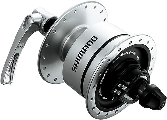 Shimano Dynamoeinheit 108mm Achsl/änge f DH-3D32 108mm schwarz Fahrrad