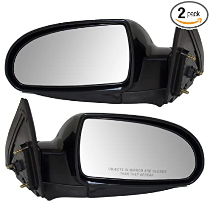 WITH SIDE REP RIGHT DRIVER SIDE MIRROR GLASS FOR HYUNDAI ELANTRA HD 2009-2010