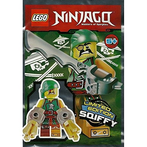 LEGO Ninjago Limited Edition Minifigure – Sqiffy (Foil Pack 891612)