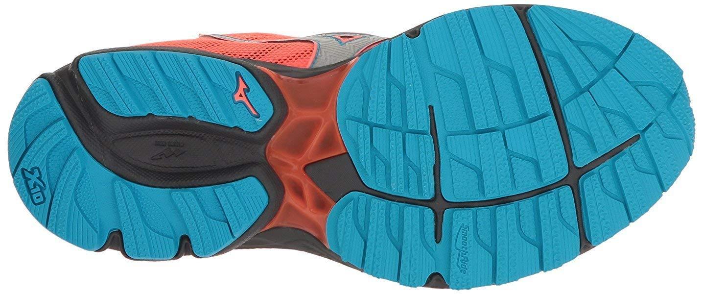 Mizuno colore rosablu modello Wave Rider 20 Gore Tex scarpe