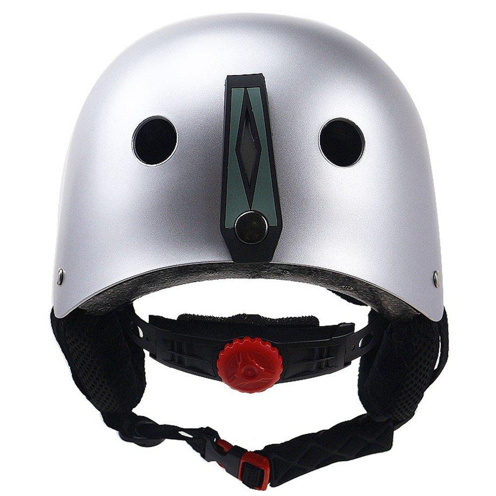 LOLIVEVE Casco da Sci Casco da Sci Sci Sci Limite di Riscaldonnato Esterno Sport Sci Mountain Bike Casco di Prossoezione Sportivo Comfort Regolabile Traspirante S (50-53Cm) M (53-57Cm) L (58-60Cm) argentoo L B07FKZ41ZX argento L | Cheapest  | Re della quantità  afebcc