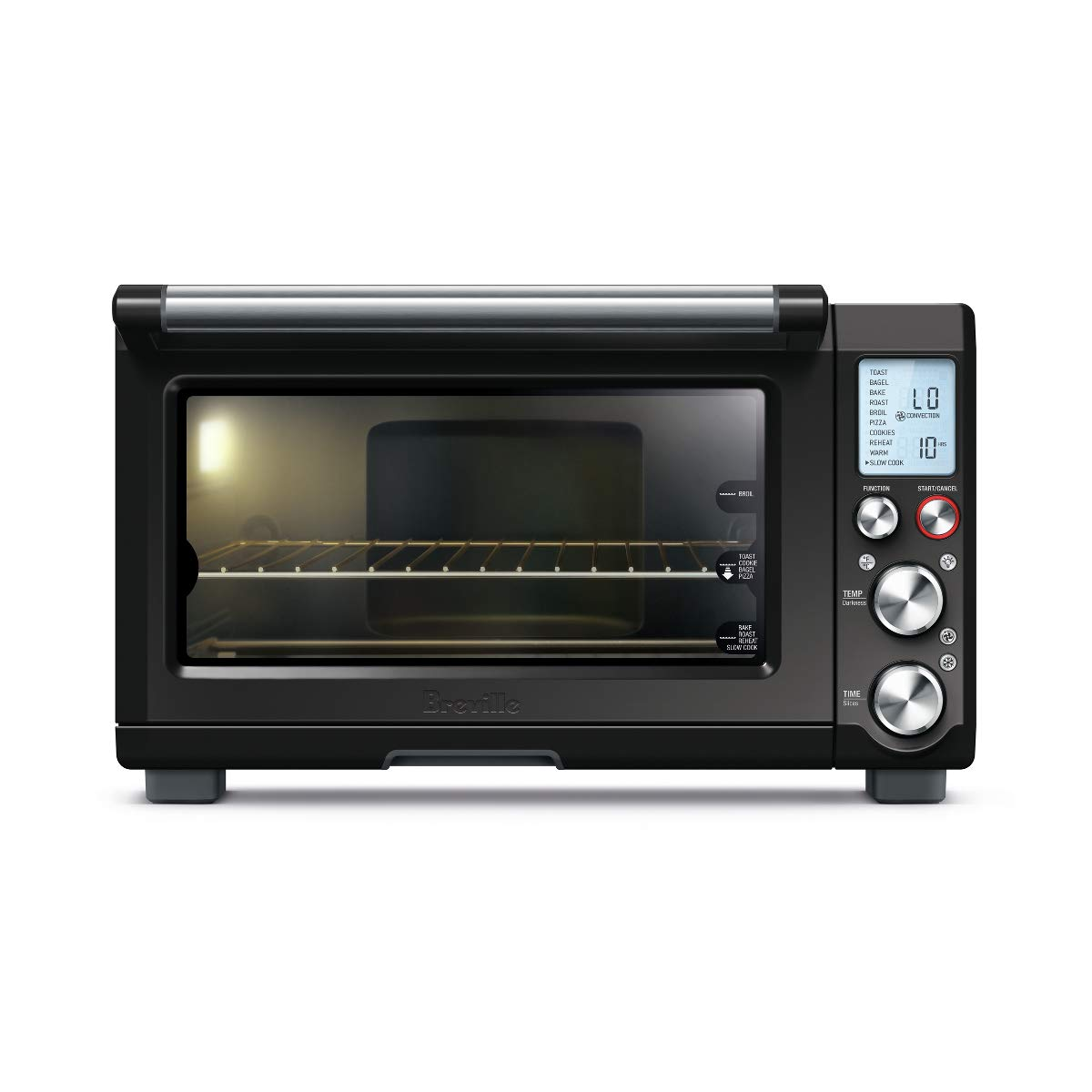 Breville BOV845BKSUSC Smart Pro Countertop Oven Bla Black Sesame