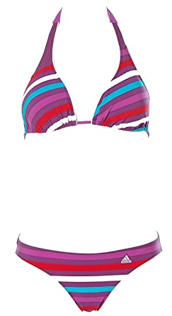 c98a6dfd996a adidas - Maillot de bain deux pièces - Femme - Violet - 42  Amazon ...