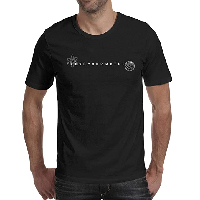 f48d91855 Men's Earth Day March for Science Love You Monther Round Neck T ...