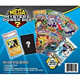Radical New Exciting Pokemon Mega Mystery Box Includes 7 Booster Packs And 1 Vintage Mystery Pack, Foil Promo Card, Total Of 81 Cards To Boost Your Collection - Perfect Gift For Any Pokemon Collector!