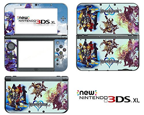 Vanknight-Vinyl-Decals-Skin-Sticker-Anime-Kingdom-Hearts-for-the-New-Nintendo-3DS-XL-2015
