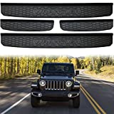 XBEEK 2018 Jeep Wrangler JL Accessories 4 Door New Body Style Black Model Sill Guards Entry Guards (4 Door - JL Model)