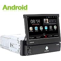 Android 1 DIN Radio de Coche GPS CAMECHO