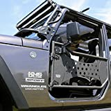 Tuff Stuff Jeep Trail Doors, Front, 07-18 Wrangler (2 Door)