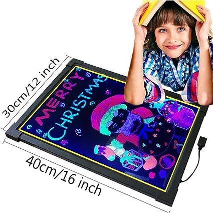 Amazon.com: Arte Glow LED Junta de escritura electrónico ...