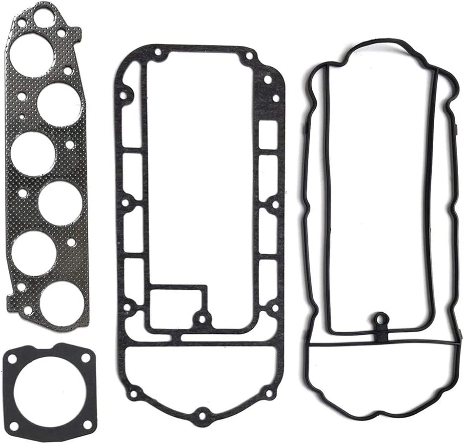 LSAILON Auto Parts MS96410 Engine Kits Intake Manifold Plenum Gasket Sets Compatible with 2004-2015 Acura Honda