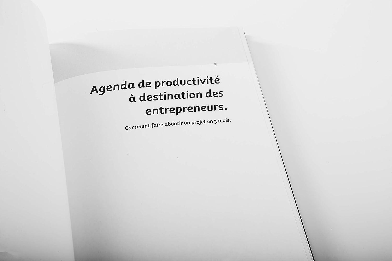 Juego de 4 - Agenda de productividad francés chastin ...