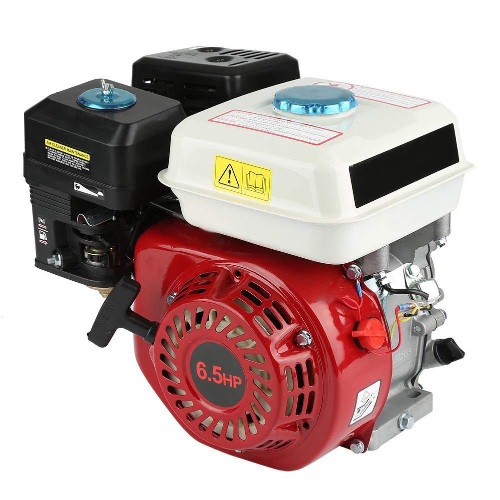 6,5/HP combusti/ón para m/áquina Cortac/ésped cortasetos motosierra de poda de accesorios para del generador de bomba de agua Motor de gasolina de 4/tiempos