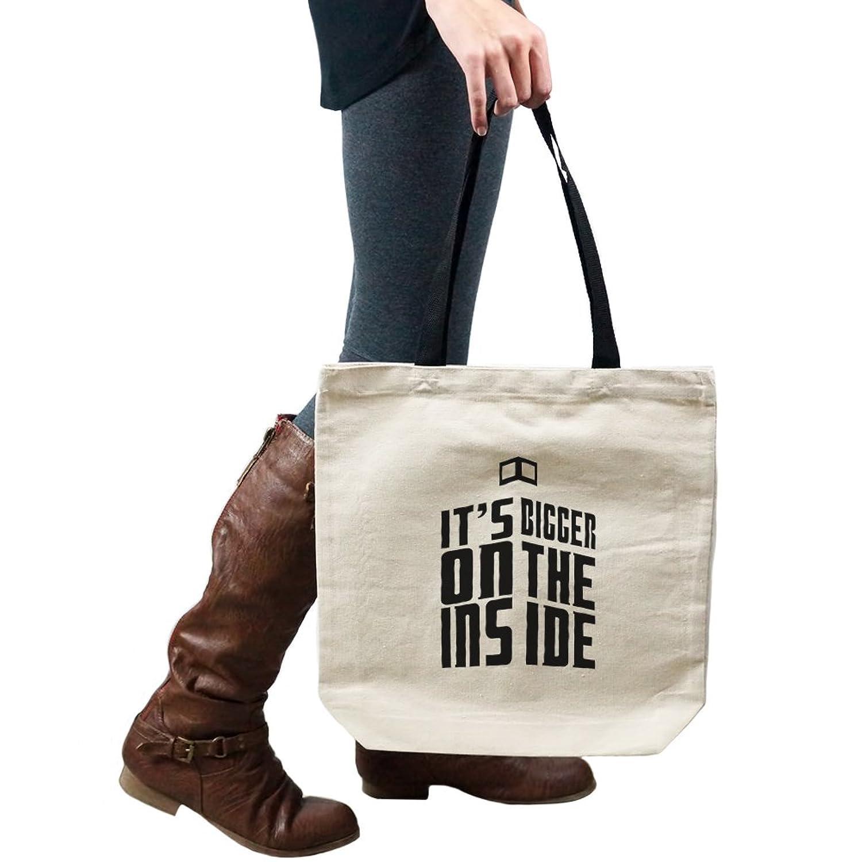 Dr. Who Inspired Bigger On The Inside Tardis Silhouette Tote Handbag Shoulder Bag Purse