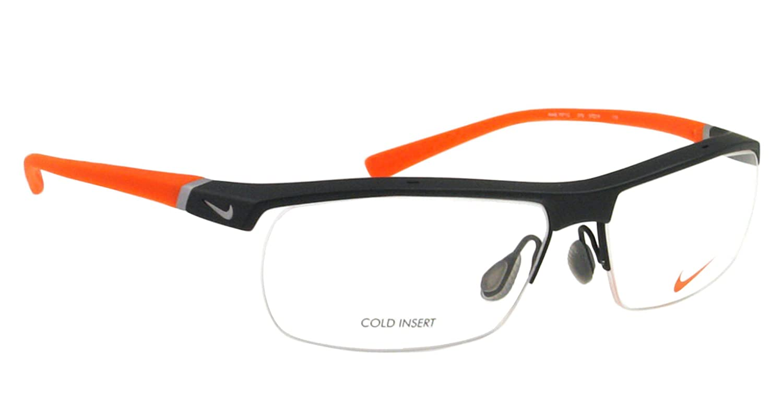 Amazon.com: Nike Eyeglasses 7071/2 075 Dark Grey/Orange Demo 57 14 135: Nike:  Health & Personal Care