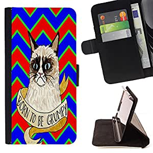 King Case - FOR Samsung Galaxy Core Prime - Secret of success - Prima caja de la PU billetera de cuero con ranuras para tarjetas, efectivo Compartimiento desmontable y correa para la mu?eca