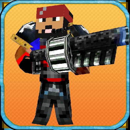 Pixel Warrior 3D - Sword & Gun Multiplayer ()