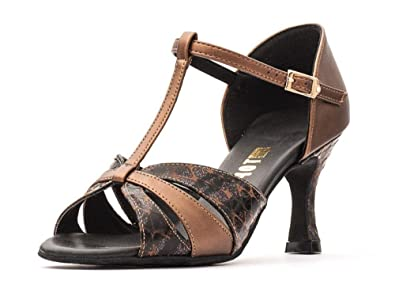 5ce568797 Ladies Social Ballroom Dance Shoes GINA 2.5