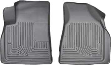 Husky Liners Fits 2008-17 Buick Enclave 2007-16 GMC Acadia 2017 GMC Acadia Limited 2009-17 Chevrolet Traverse with 2nd Row Bucket Seats Weatherbeater 2nd Seat Floor Mat