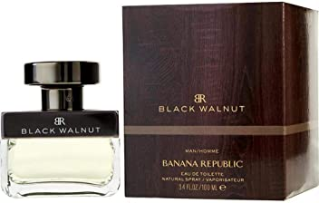 Banana Republic Black Walnut Eau de Toilette Spray for Men, 3.4 Ounce
