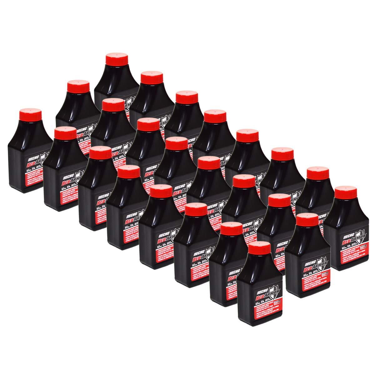 (24) Genuine OEM Echo Red Armor 1 Gallon Mix of 2-Cycle Oil 2.6oz 2.6 oz 6550000