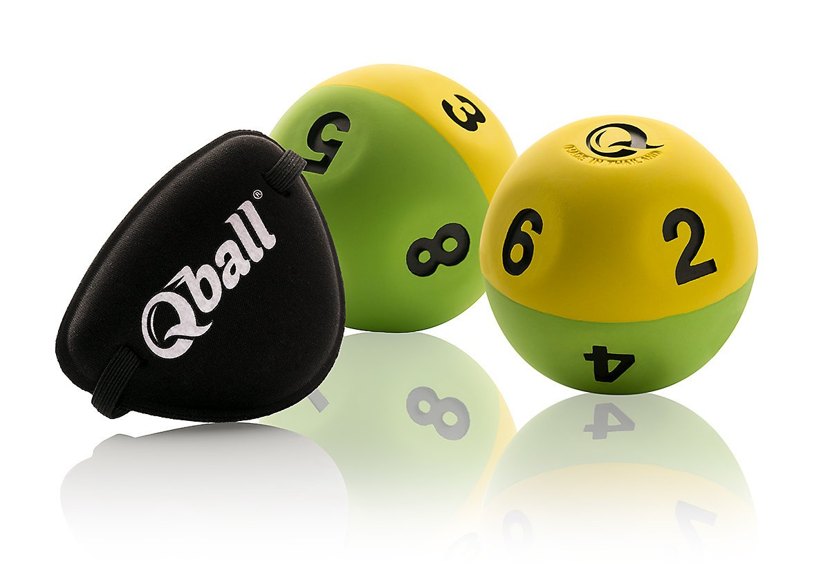 Qball Reaction Ball (x2) + Eye Patch by Qball