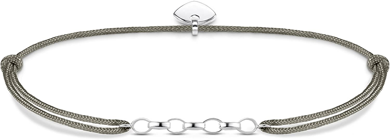 Thomas Sabo Pulsera de Mujer Charm Little Secret, Plata de Ley 925