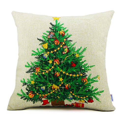 Christmas Tree Pillow Amazon Com