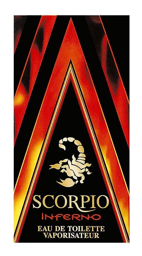 Scorpio Inferno - Colonia para hombre (75 ml)
