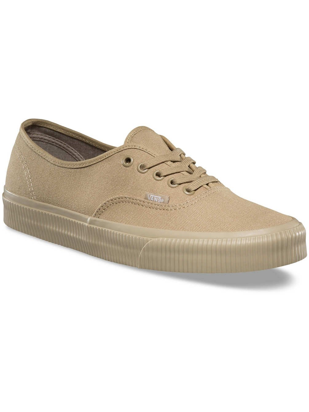 Vans Unisex Authentic Skate Shoe (11.5 D(M) US Mens/13.0 B(M) US Womens, (Mono Surplus) Khaki/Khaki) by Vans